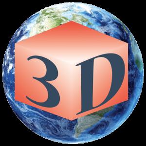 لوگوی شرکت جهان پویان علم و صنعت با اندازه 512 پیکسل jahan3d